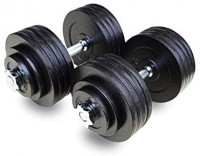 One Pair of Adjustable Dumbbells Kits-200lbs(2x100lbs) : Sports & Outdoors