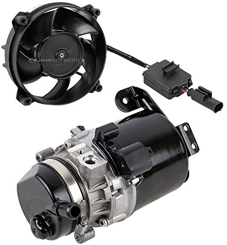 Electric Power Steering Pump & Cooling Fan For Mini Cooper R50 R52 R53 2002 2003 2004 2005 2006 - BuyAutoParts 86-50017P1 Remanufactured: Automotive