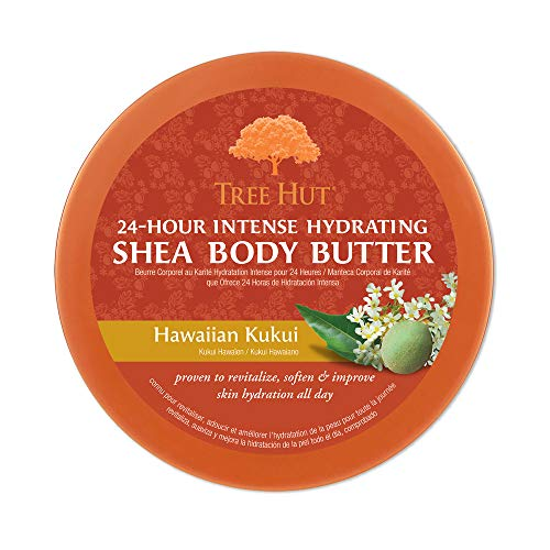 Tree Hut 24 Hour Intense Hydrating Shea Body Butter Original Shea, 7oz, Hydrating Moisturizer with Pure Shea Butter for Nourishing Essential Body Care : Beauty