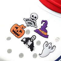 YUESUO Set of 5 Shoe Charms for Crocs Kids Party Favors Halloween Decorations for Shoes Bands Bracelet Wristband Party Birthday Christmas Gifts: Toys & Games