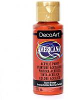DecoArt Americana Acrylic Paint, 2-Ounce, Burnt Orange