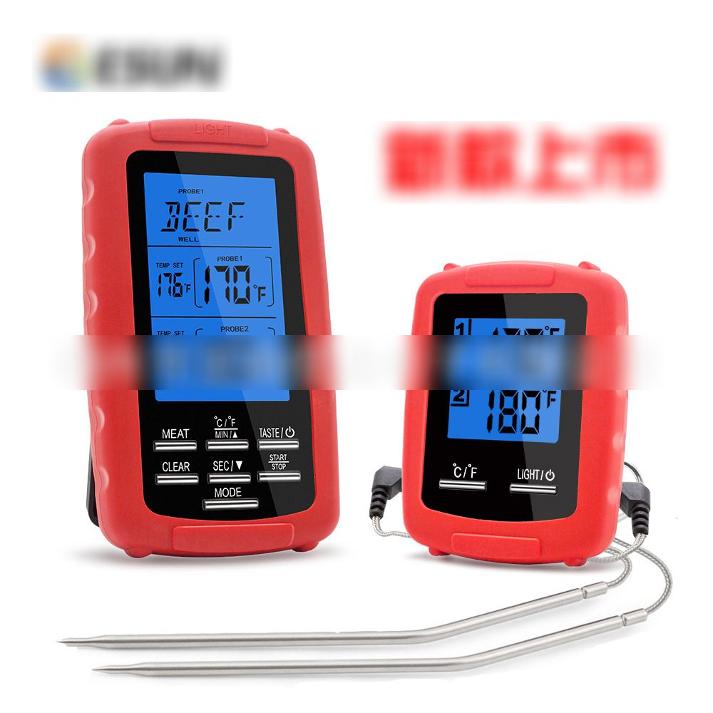 Kitchen Food Barbecue Dual Channel Digital Thermometer