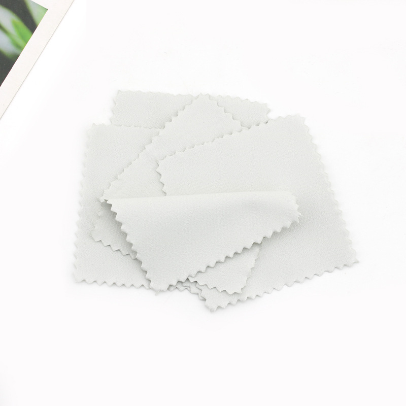 Pengxiaomei 50 Pack Jewelry Cleaning Cloth, Polishing Cloth for Sterling Silver Gold Platinum (Pink): Arts, Crafts & Sewing