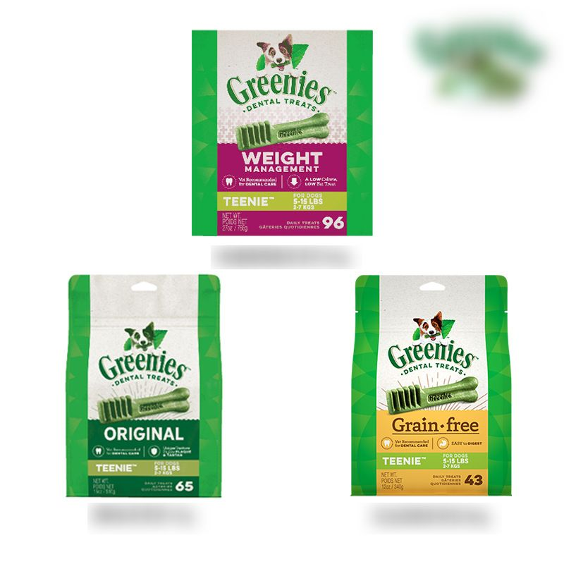 Green Greenies Cleansing Dog Glue In Addition To Bad Breath Cleansing Rod Dog Snacks Molar Cleansing Teeth