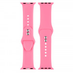 Double Buckle Silicone Strap For Apple Watch 2/3/4 Generation Wristband