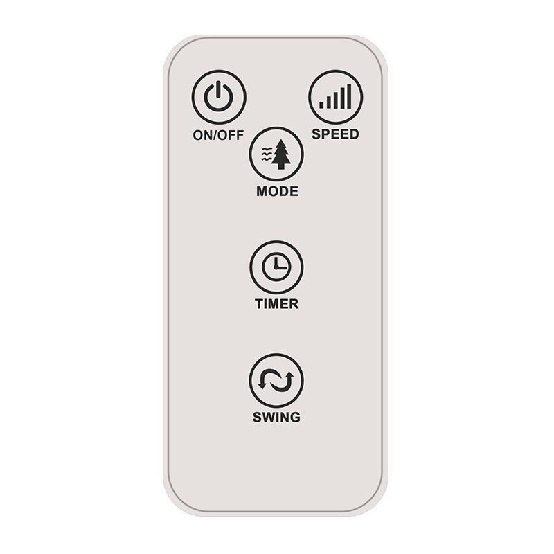 Home Floor Fan Office Silent Timing Remote Control Vertical Tower Fan Leafless Electric Fan