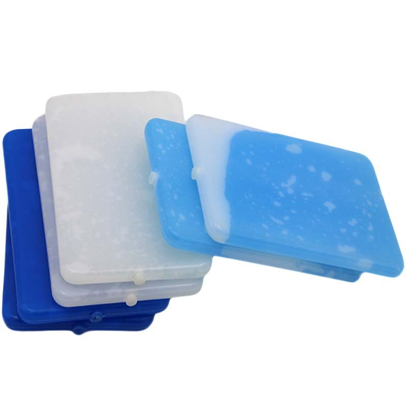 Gies Ultra-thin Food Grade Fresh-keeping Insulation Ice Box Blue Ice Cold Ice Crystal Can Be Used Repeatedly