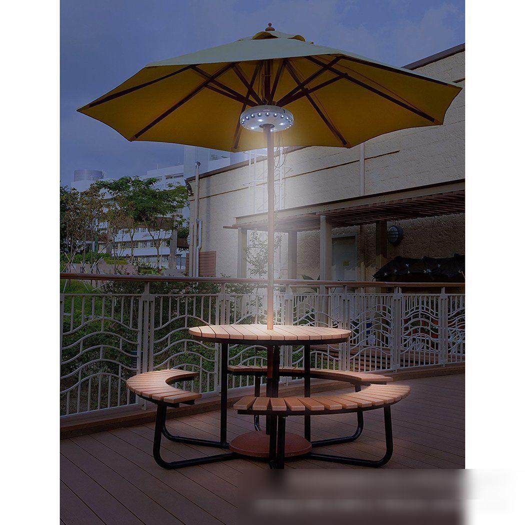 Dedicated LED Umbrella Lights Outdoor Tent Lights 24+4LED Hanging Lights Multi-function Hanging Lights Camping Lanterns