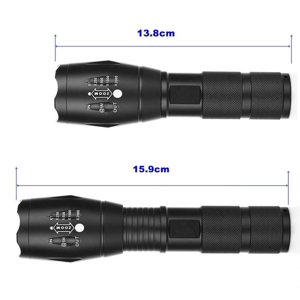Flashlight Charging Zoom Mini Light Led