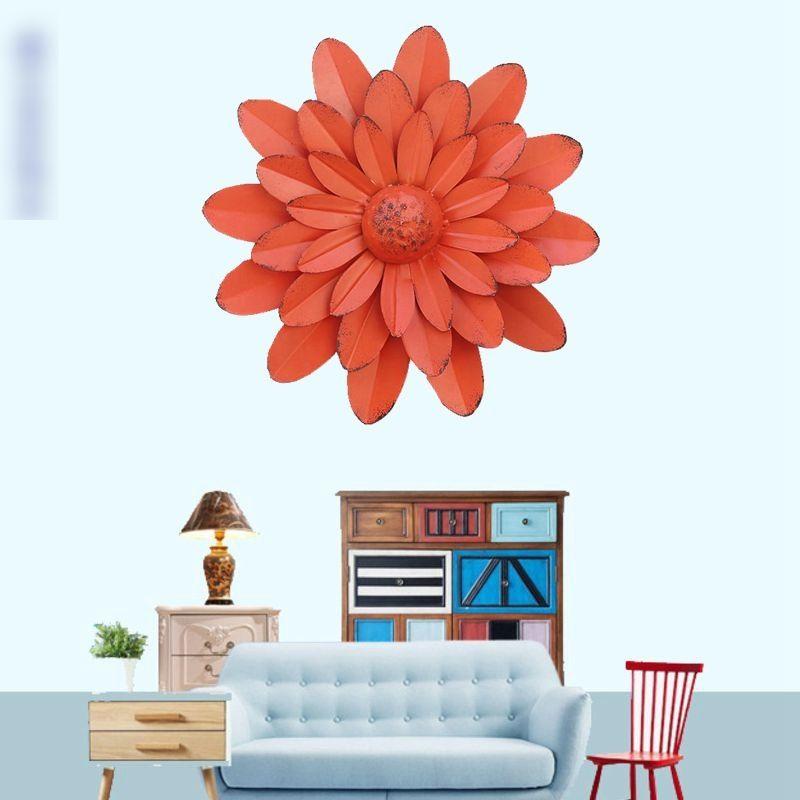 Large Metal Flower Wall Art Decor   Supply Leader ...