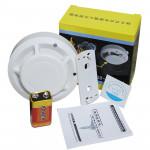 Smoke Alarm Independent  Home Fire Smoke Detector