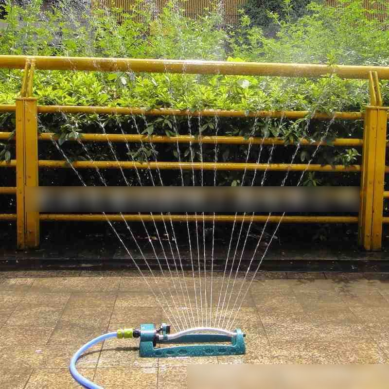 Garden Automatic Swing Type Rotating Sprinkler Nozzle Garden Lawn Bridge Maintenance Roof Cooling Nozzle Tool