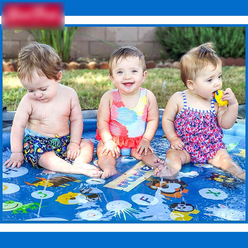Children Play Water Toys Spray Water Swimming Pool