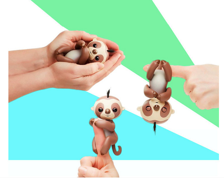 Finger Small Sloth Creative Fingertips Smart Touch Sloth Monkey Children's Toys