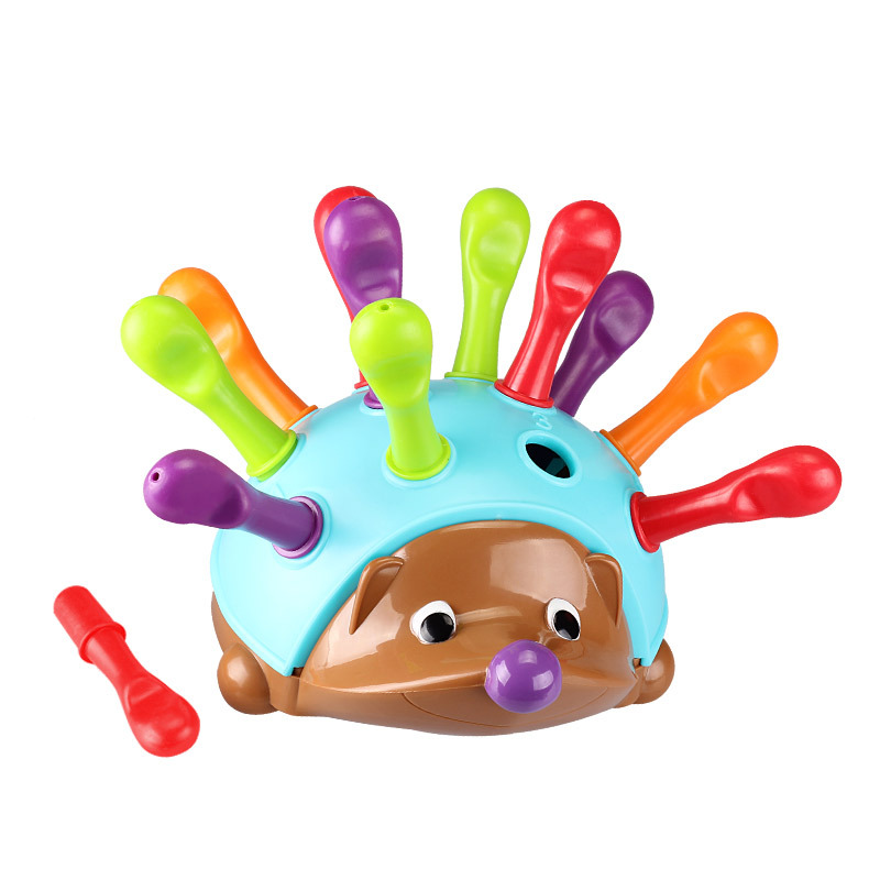 Training Children's Fine Movements, Hand-eye Coordination, Spelling Out Hedgehog, Baby Puzzle, Enlightenment Toys