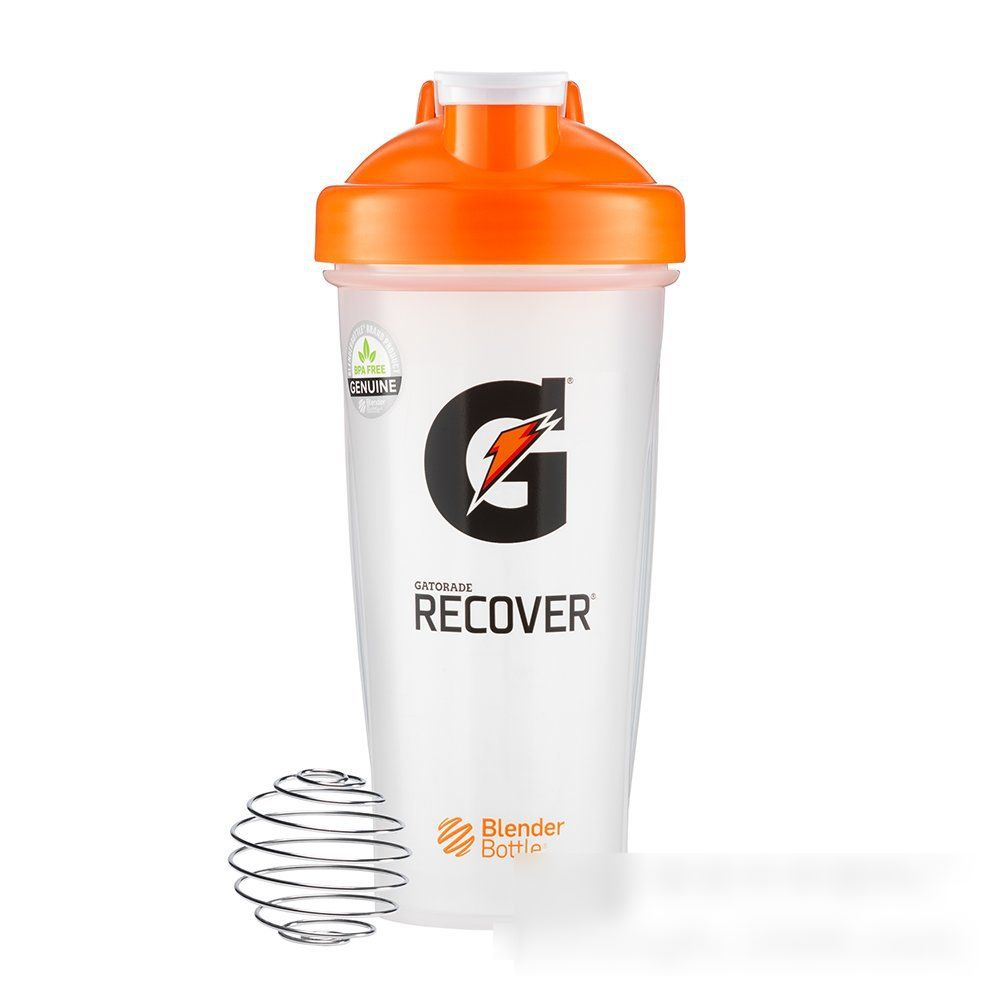 600ml Plastic Shake Cup Sports Fitness Shake Cup