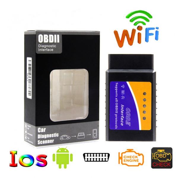 Elm327 Wifi Obd2 Car Detection Diagnostic Instrument Android Full Car  Version