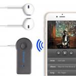 Car 3.5mm Bluetooth Receiver  Adapter Aux Audio Converter