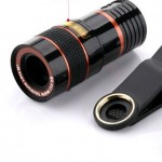 Mobile Telescope HD Camera Phone  External Telephoto  High Single Tube 8X