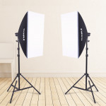 Single Lamp Soft Light Box Photo Light Set Fill Light Photography Light Studio 5600K