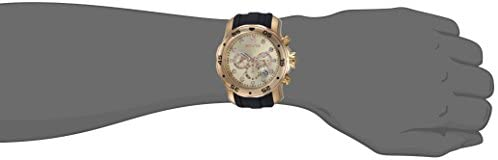 Invicta Men's 17884 Pro Diver 18k Gold Ion-Plated Stainless Steel Chronograph Watch: Invicta: Watches