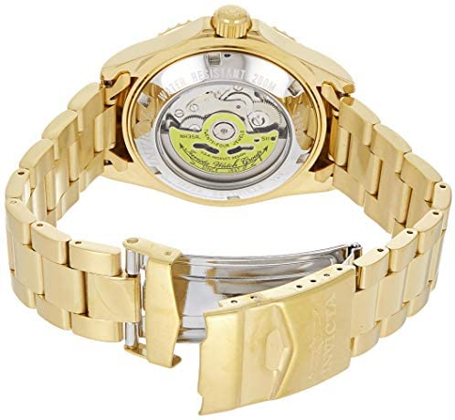 Invicta Men's Pro Diver Automatic-self-Wind Stainless-Steel Strap, Gold, 20 Casual Watch (Model: 26997): Invicta: Watches
