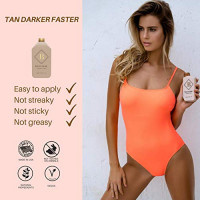 BRONZE TANNING LOTION for the Ultimate Bronzed Body Natural Caramel Base Tinted Moisturizer Use everyday for Instant Goddess Glow while Nourishing Your Skin (1 Pack) : Beauty