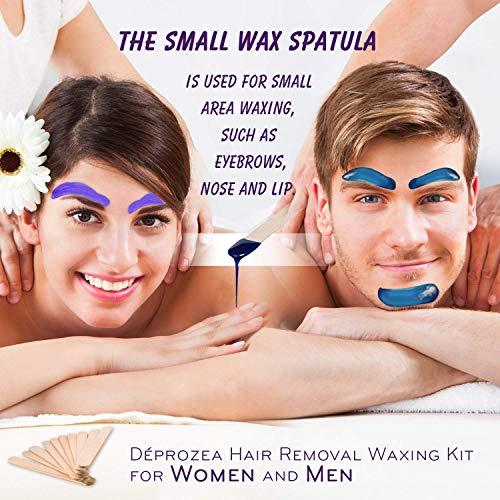 Waxing Kit for Women, Home Waxing Kit for Eyebrow,Armpit, Leg,Bikini, Wax warmer with 4 Bags Painless Hard Wax Beans Hair Removal Kit: Beauty