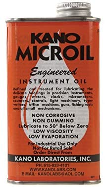 Kano - Microil Precision Instrument Lubricant, 8oz: Automotive