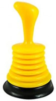Items 4U! Small Compact Sink Plunger with Ergonomic Handle, 1-pack: Home & Kitchen