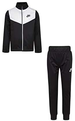 Nike Kids Boy's Color-Block Jacket and Pants Two-Piece Track Set (Little Kids): Clothing