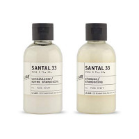 Le Labo Santal 33 Shampoo & Conditioner 3oz each (Clear Bottle) set of 2 bottles, 6oz Total : Beauty