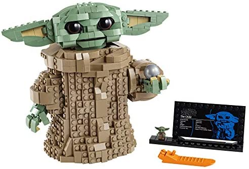 LEGO Star Wars: The Mandalorian The Child 75318 Building Kit; Collectible Buildable Toy Model for Ages 10+, New 2020 (1,073 Pieces): Toys & Games
