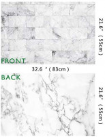 2-Pack 4 Patterns ins Style Photography Background Jewelry Shops Photos Food photoshoots Backdrop Rustic Wood Grain Retro Shabby Chic Broken Grunge Concrete Wall YouTube Video displaying Background : Camera & Photo