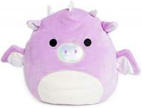 Squishmallow Kellytoy 8 Inch Purple Dragon: Toys & Games