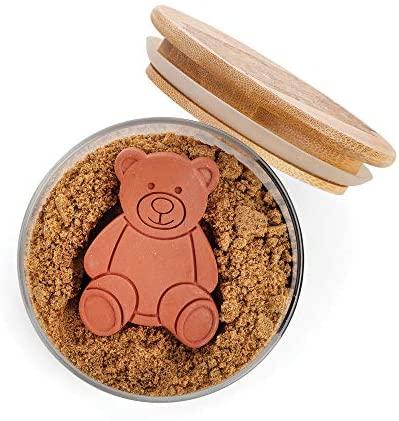Fox Run Terracotta Brown Sugar Bear Keeper and Saver, 1 pack: Sugar Bowls