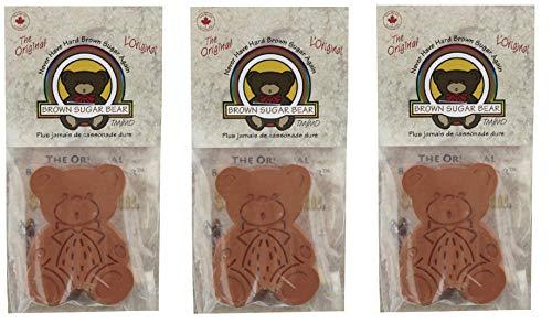Brown Sugar Bear 54923 Original Brown Sugar Saver and Softener, Single, Pack of 3: : Grocery & Gourmet Food