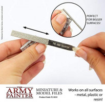 The Army Painter Miniature and Model Files: Diamond File Set of Round, Flat & Triangular Metal File: Toys & Games