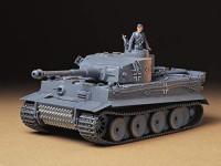 Tamiya 35216 1/35 Ger. Tiger I Early Production Tank Plastic Model Kit: Toys & Games