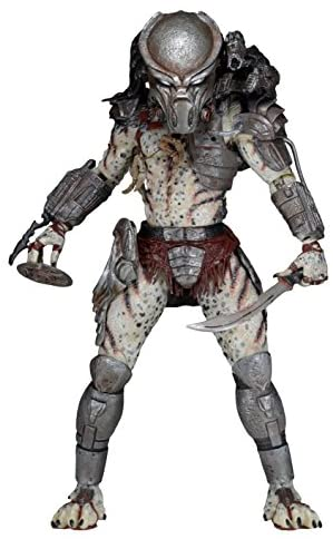 """NECA Scale Series 16 Ghost Predator Action Figure, 7"""": Toys & Games"""