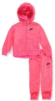Nike Girls' 2-Piece Sweatsuit: Clothing
