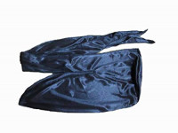 Premium Silky 360 Wave Builder Durag For Men- Extra Long Ties - Unisex - Wide Strap - Durags For Men Waves- Fashion - Black : Beauty