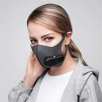 Huayue Smart Electric Air Face Shield Washable Reusable Activated Carbon Filter Anti-Dust Anti Pollution: Sports & Outdoors