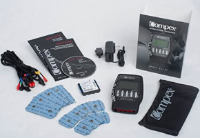 Compex Sport Elite 2.0 Muscle Stimulator with TENS Bundle Kit: Muscle Stim, 12 Snap Electrodes, 10 Programs, Lead Wires, Battery, Case / 4 strength, 2 warm-up, 3 recovery, 1 TENS: Health & Personal Care