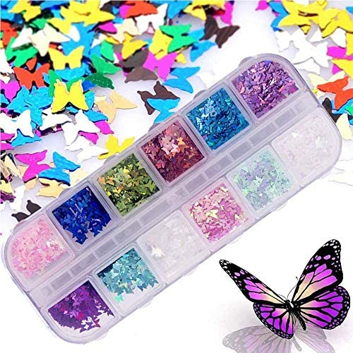 SXC Cosmetics P-05 Butterfly Series Jelly Translucent Polygel Nail Kit with LED Lamp 10pcs 15ML Nail Extension Gel All-in-One Nail Enhancement Starter Gel Builder Nail Technician Set: Kitchen & Dining