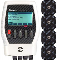 Compex Performance 2.0 Muscle Stimulator with TENS Bundle Kit: Muscle Stim, 12 Snap Electrodes, 6 Programs, Lead Wires, Battery, Case / 3 strength, 1 warm-up, 1 recovery, 1 TENS: Health & Personal Care