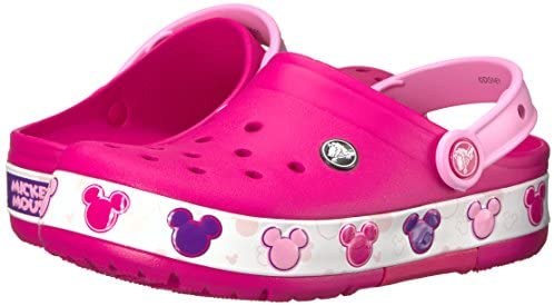 Crocband Mickey Fun Lab Light Up Clog | Mickey Mouse Light Up Shoes | Clogs & Mules