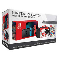 Nintendo Switch Bundle with Mario Party & Case: Video Games