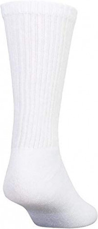 24 Pairs Cotton Crew Socks, Mens Womens Bulk Casual Sports Sock at Men's Clothing store