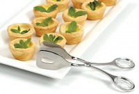 RSVP Endurance Small Stainless Steel Serving Tongs: Food Tongs: Kitchen & Dining